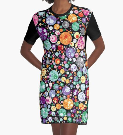 Points on a circle 018 Graphic T-Shirt Dress
