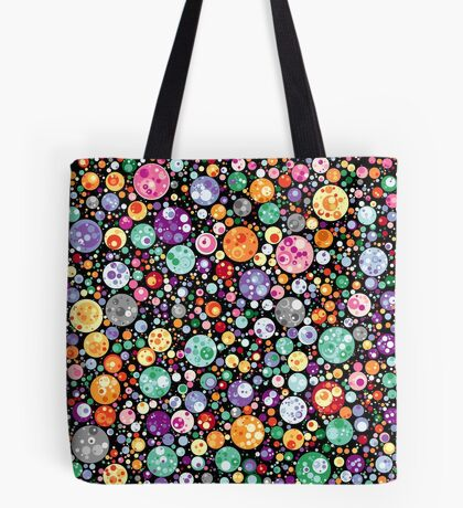 Points on a circle 018 Tote Bag