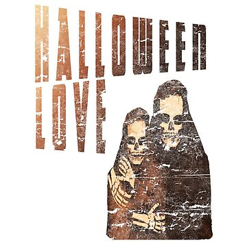 Vintage Halloween goth love design  by jhussar