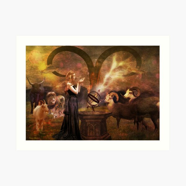Aries - Ode To Joy Art Print