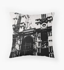 Westminster Abbey Pen and Ink,  London, England, UK Throw Pillow