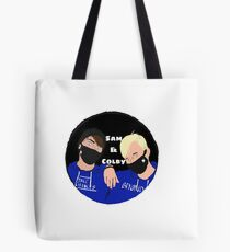 Sam & Colby Tote Bag
