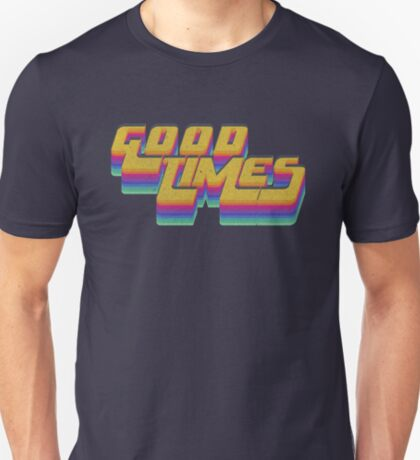 Good Times Seventies 70's T-Shirt Cool Vintage Retro Style T-Shirt