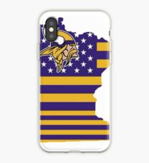 Minnesota State of Football iPhone Case