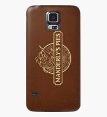 Manderly's Pies (in tan) Case/Skin for Samsung Galaxy