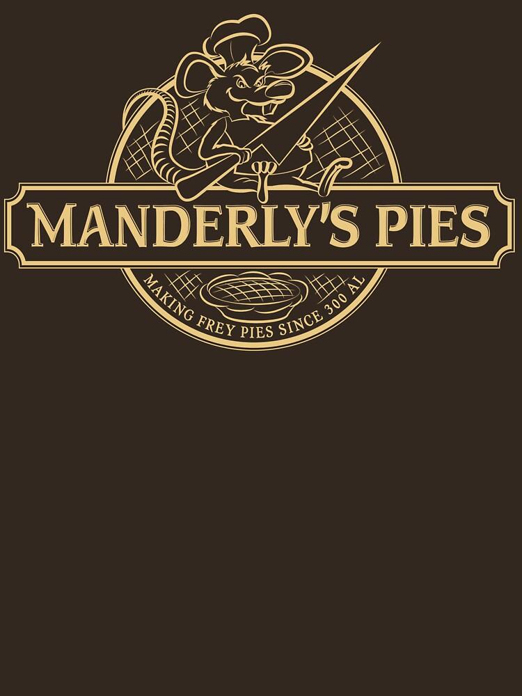 Manderly's Pies (in tan) | Unisex T-Shirt