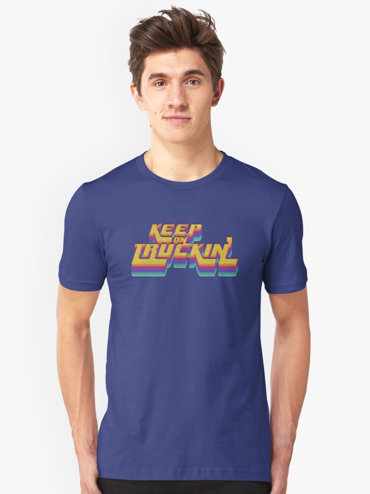 Keepin' It Real Seventies 70's T-Shirt Cool Vintage Retro Unisex T-Shirt Front