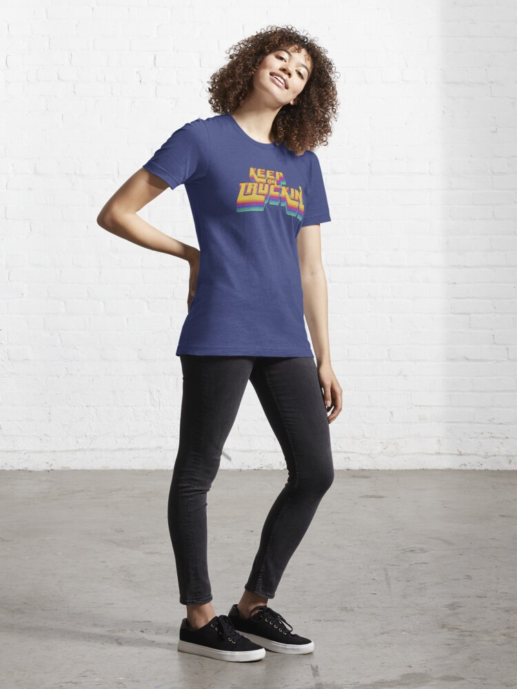 Alternate view of Keepin It Real Seventies 70s T-Shirt Cool Vintage Retro Essential T-Shirt