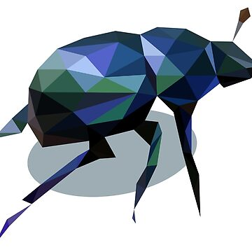 Low Poly Beetle by DigitalShards