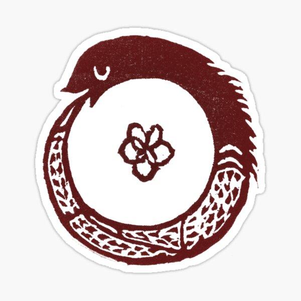 Chrysopoeia Ouroboros Sticker