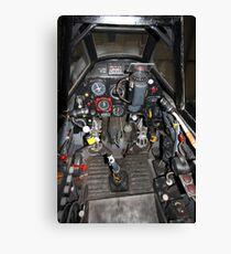 ME109 Cockpit Canvas Print