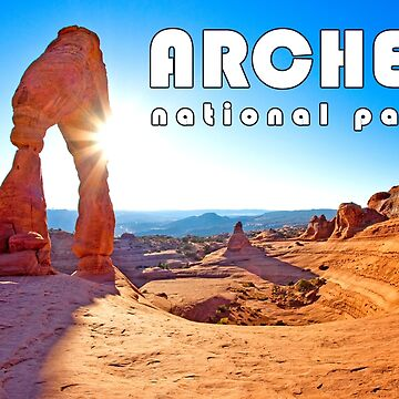 Arches National Park - Delicate Arch, Moab, Utah by strayfoto