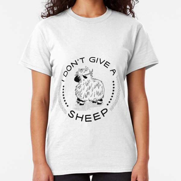I don't give a Sheep Classic T-Shirt