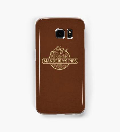 Manderly's Pies Samsung Galaxy Case/Skin