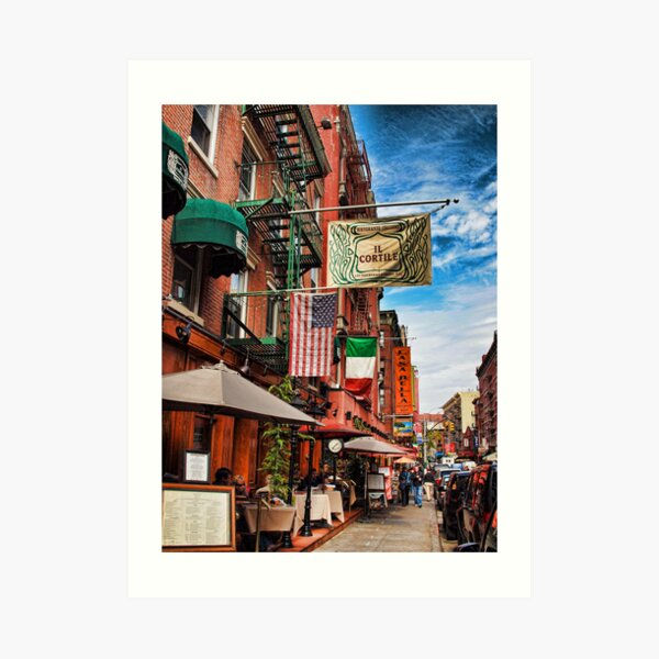 Little Italy, New York Art Print