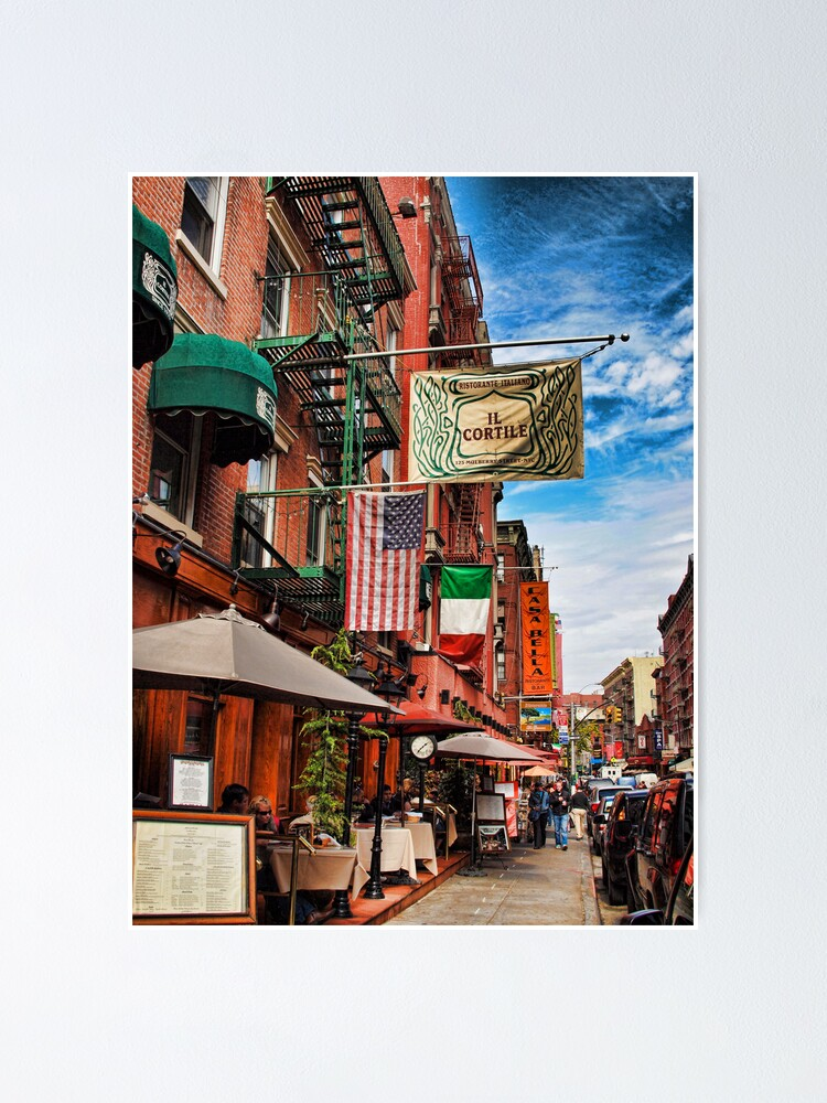 Alternate view of Little Italy, New York Poster