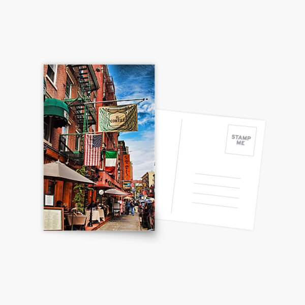 Little Italy, New York Postcard