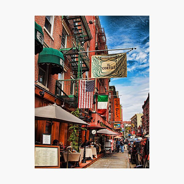 Little Italy, New York Photographic Print