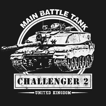 Challenger 2 - Main Battle Tank by RycoTokyo81