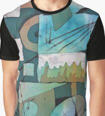 Avant-garde in blue Graphic T-Shirt