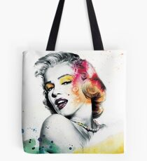 Marilyn Monroe with a twist Tote Bag