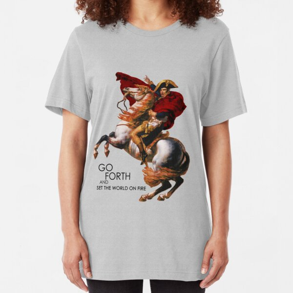 Go Forth and Conquer Slim Fit T-Shirt