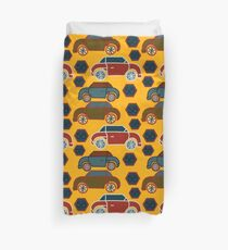 Antique Cars Duvet Cover