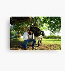 Howdy Pardner Canvas Print
