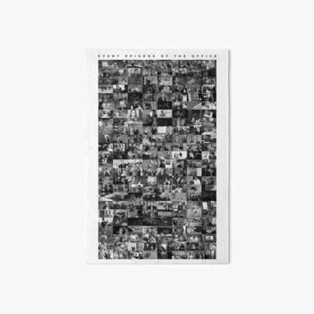 Every Episode of The Office Art Board Print
