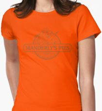 Manderly's Pies Womens Fitted T-Shirt