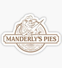 Manderly's Pies Sticker