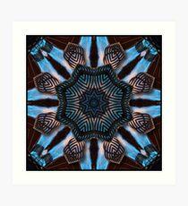 Blue Flame (Hot Air Balloon) Art Print