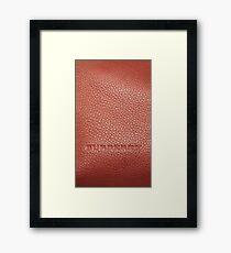 burberry Framed Print