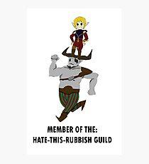 Sera and Bull's Guild Photographic Print