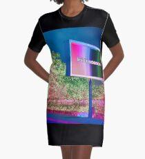 Brockhampton Iridescence Sign Graphic T-Shirt Dress