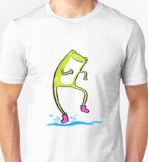 Rainy Day Frog 3 Unisex T-Shirt