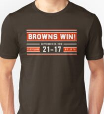 Browns Win! Unisex T-Shirt