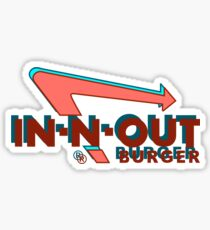 Retro In-N-Out Sticker