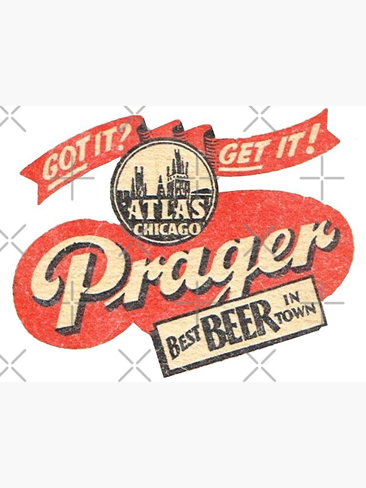 Prager Beer by Retrorockit
