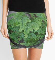 flower power fern Mini Skirt