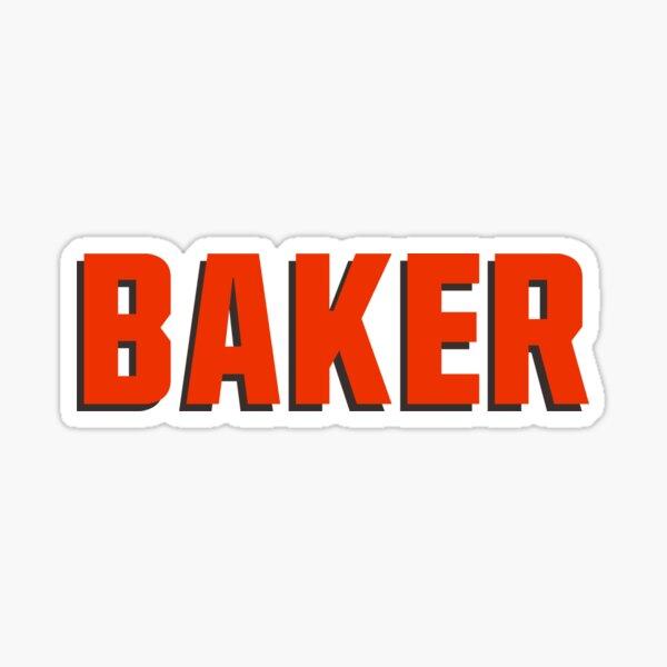 Baker Sticker Sticker