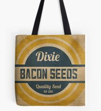 Bacon Seed Vintage Burlap Sack Tote Bag