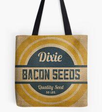 Bacon Seed Vintage Burlap Sack Tote Bag