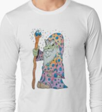 Wacky Elf Wizard Long Sleeve T-Shirt