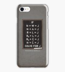 Westerosi Math 101 iPhone Case/Skin