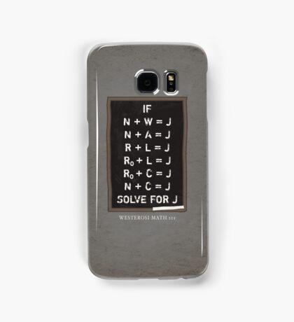 Westerosi Math 101 Samsung Galaxy Case/Skin