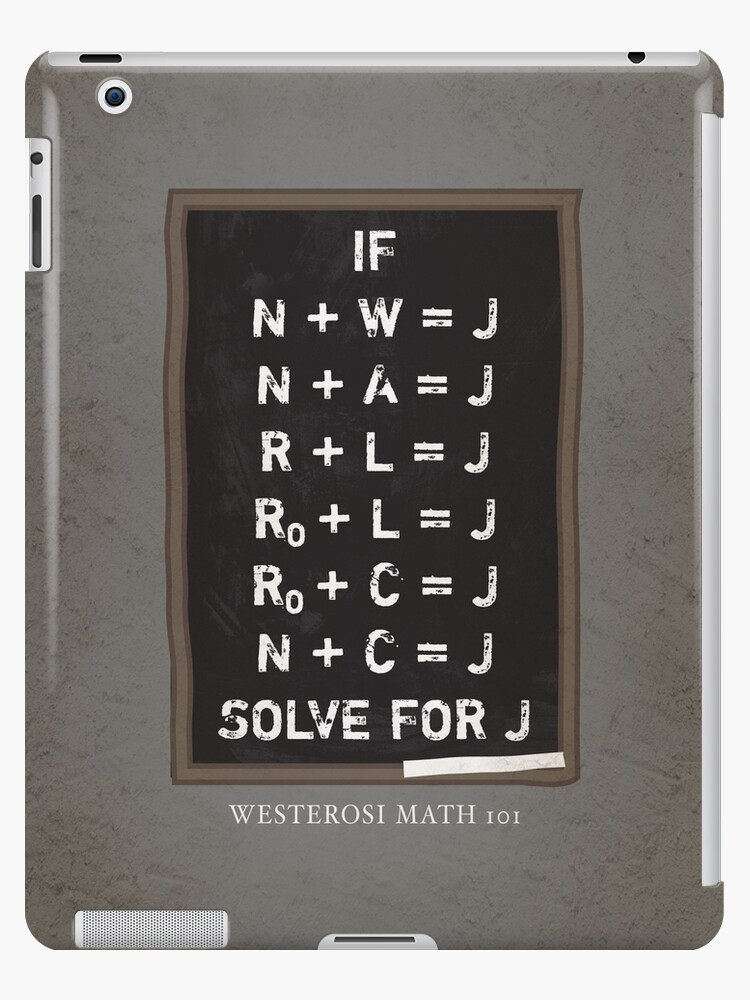 Westerosi Math 101 by JenSnow