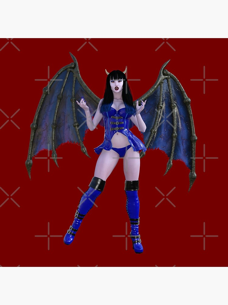 Undead Angels: Winged Succubus by EnforcerDesigns