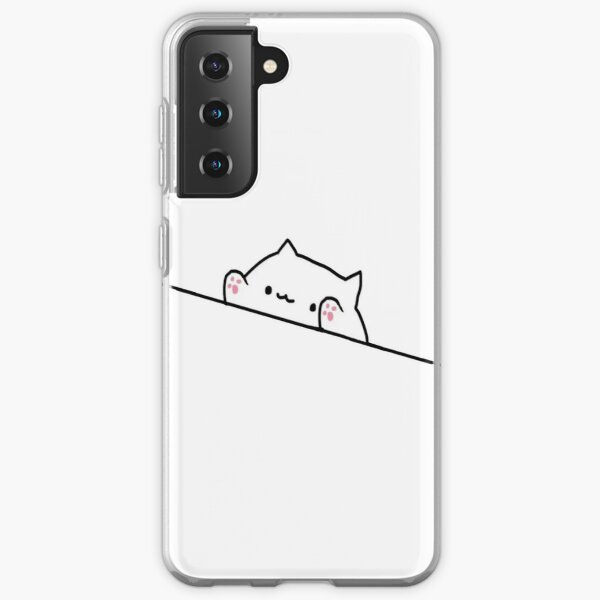 Bongo Cat Meme Samsung Galaxy Soft Case