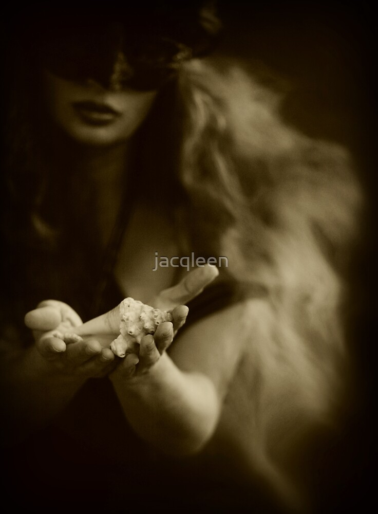 If I take down my MASK...will you PROTECT me within your SHELL by jacqleen